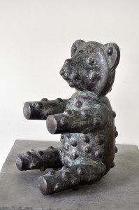 Copper Teddy's Bear-2, david alesworth