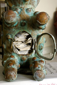 Foucault's Teddy's Bear Reliquary, detail_3, David Alesworth