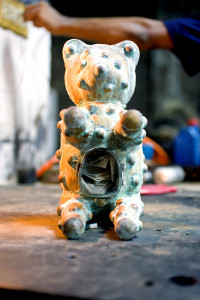 Foucault's Teddy's Bear Reliquary, detail_4, David Alesworth