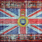 """""""The indian Viceroys Flag of 1885"""" 2012"""